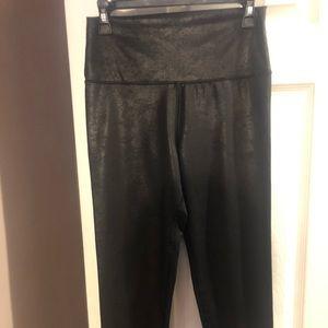 Aerie high waist shiny leather like leggings